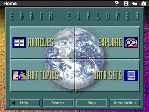 Apple 1995 Earth Explorer