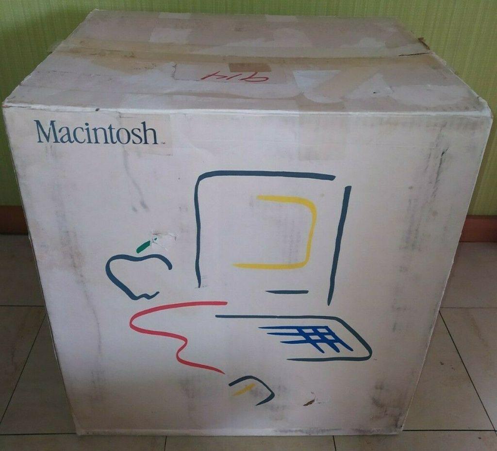 Apple macintosh picasso box carton