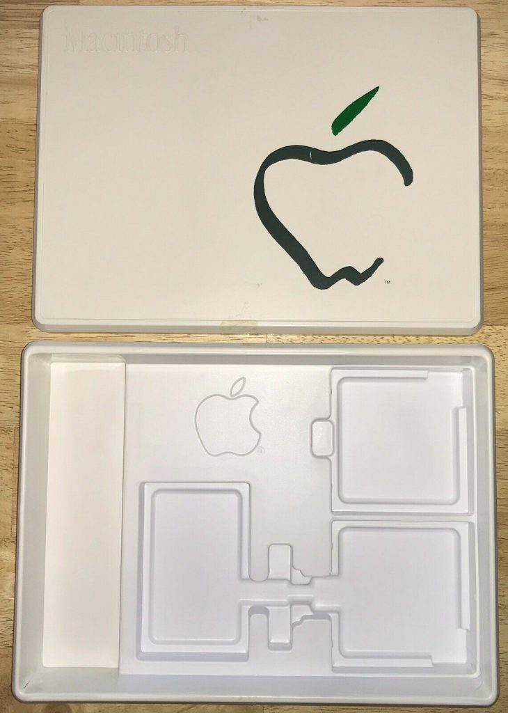 Apple Picasso Macintosh plastic box accessory kit