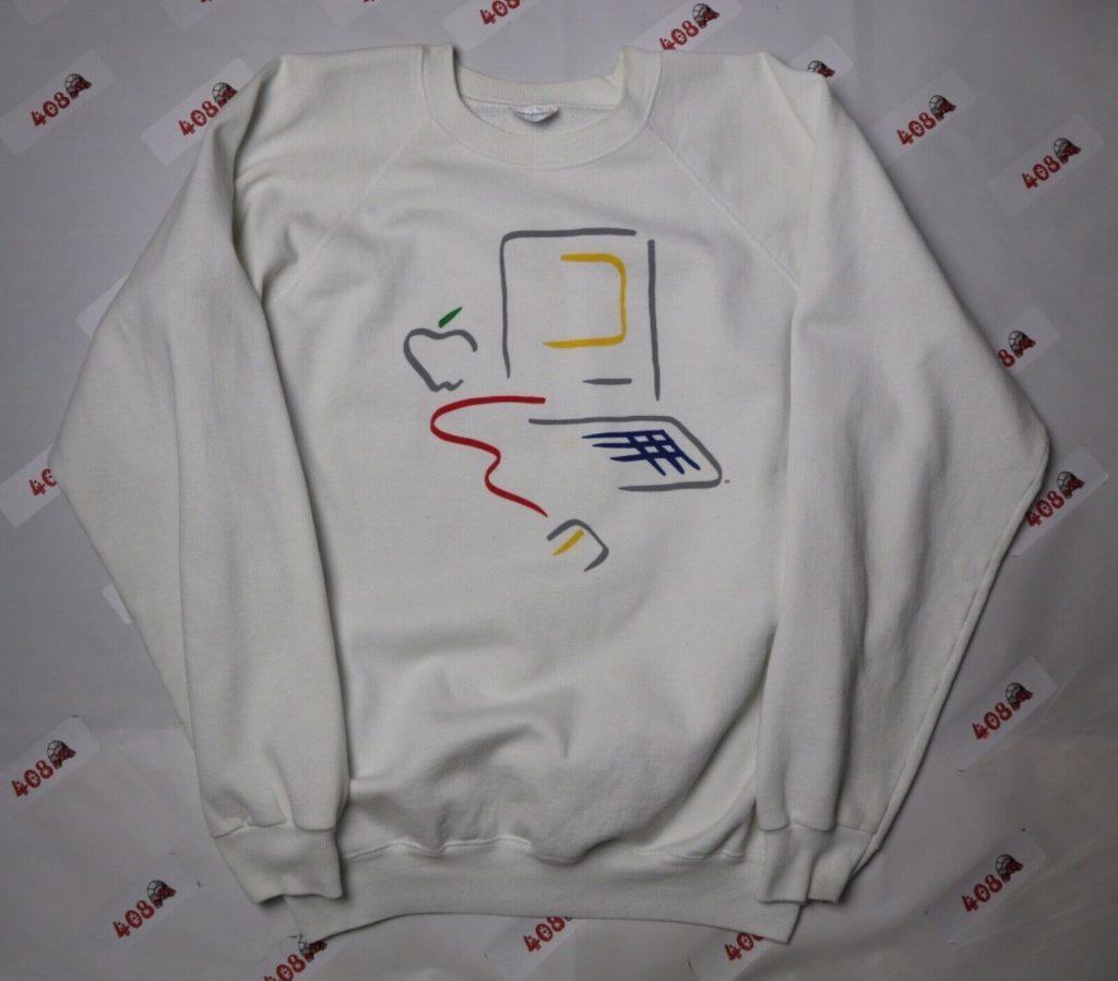 apple picasso logo macintosh sweatshirt