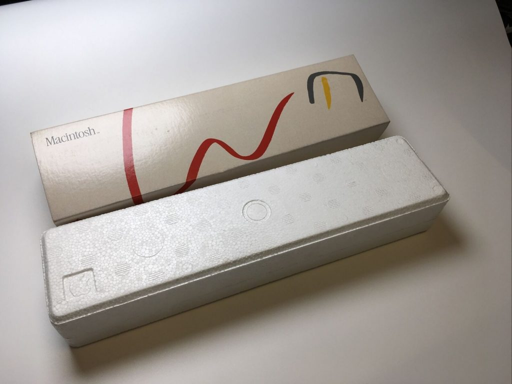 Apple Picasso Mouse box Macintosh