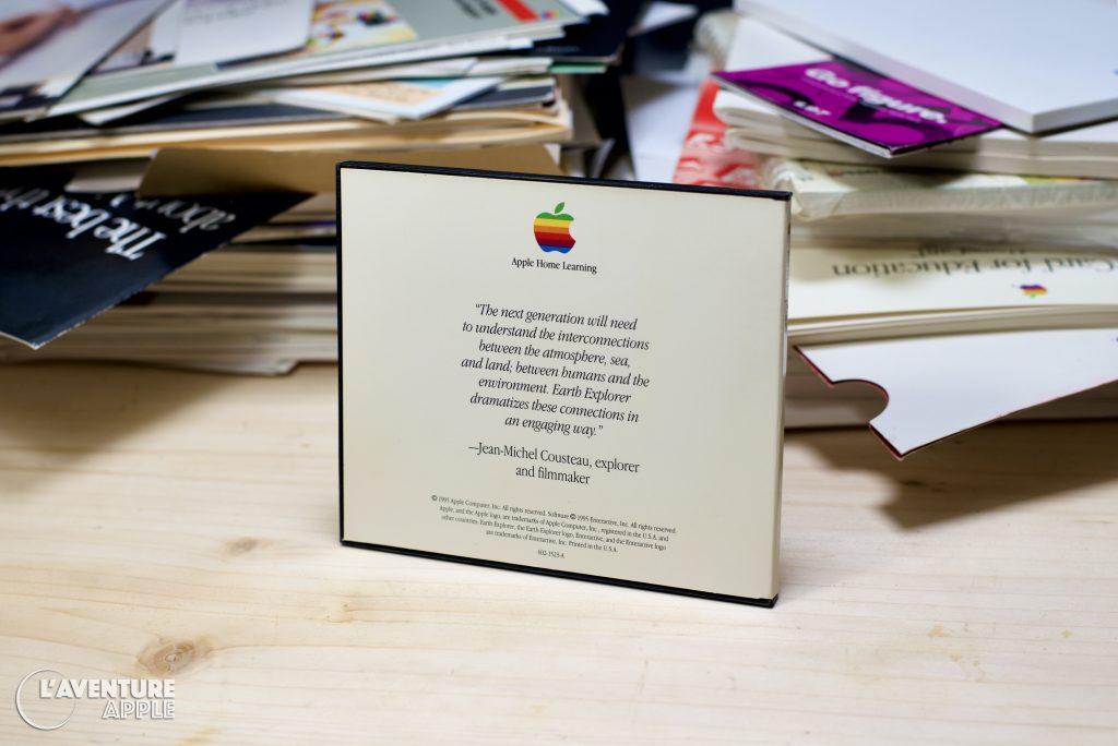 Apple 1995 Earth Explorer CD