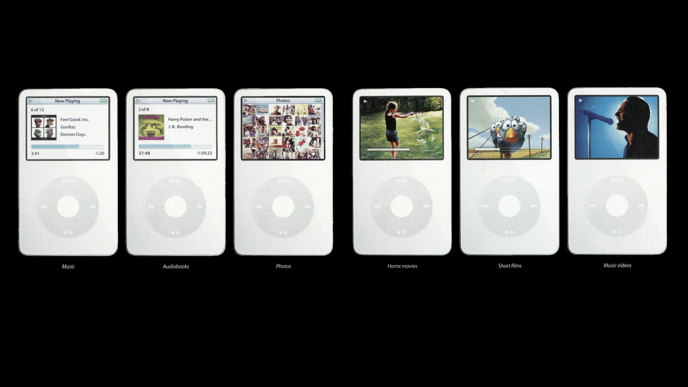 iPod video apple ad