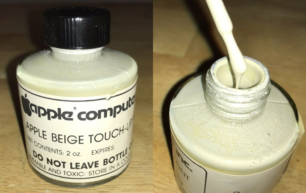 Beige Apple Touche-up paint