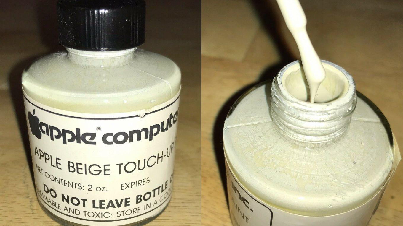 Beige Apple Touche-up paint