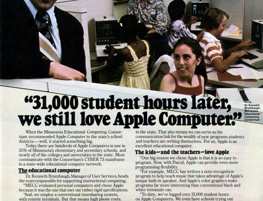 Apple 1979 ad