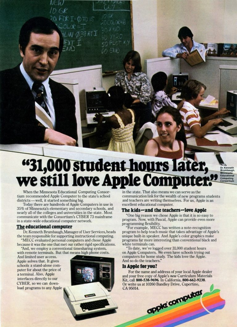 Apple 1979 ad