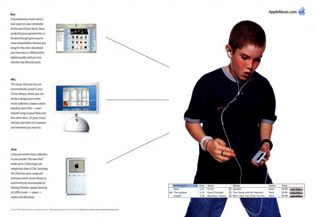 Buy, Mix, iPod - Apple