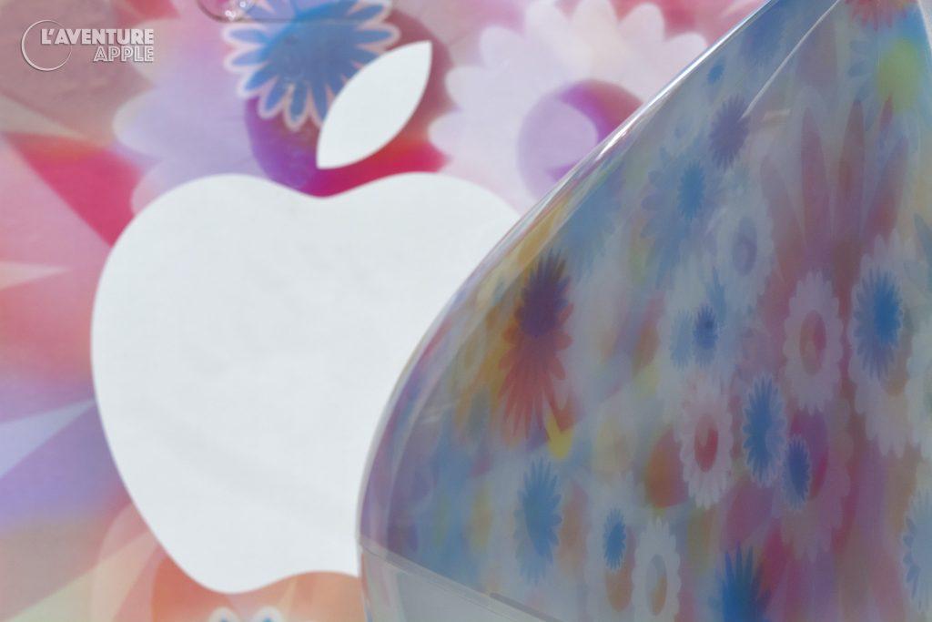 iMac Flower Power et Blue Dalmatian