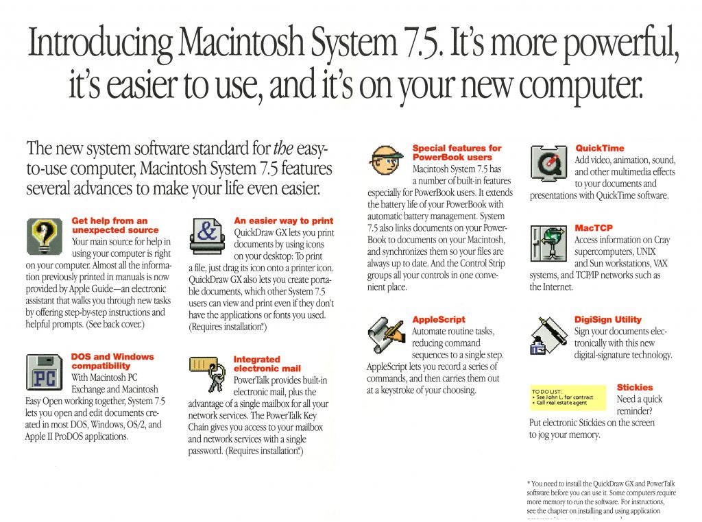 The best thing about Macintosh just got better 1994 Apple ad