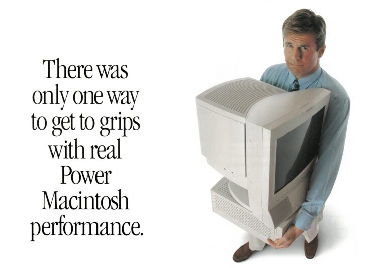 Power Macintosh performance 1995 Ad