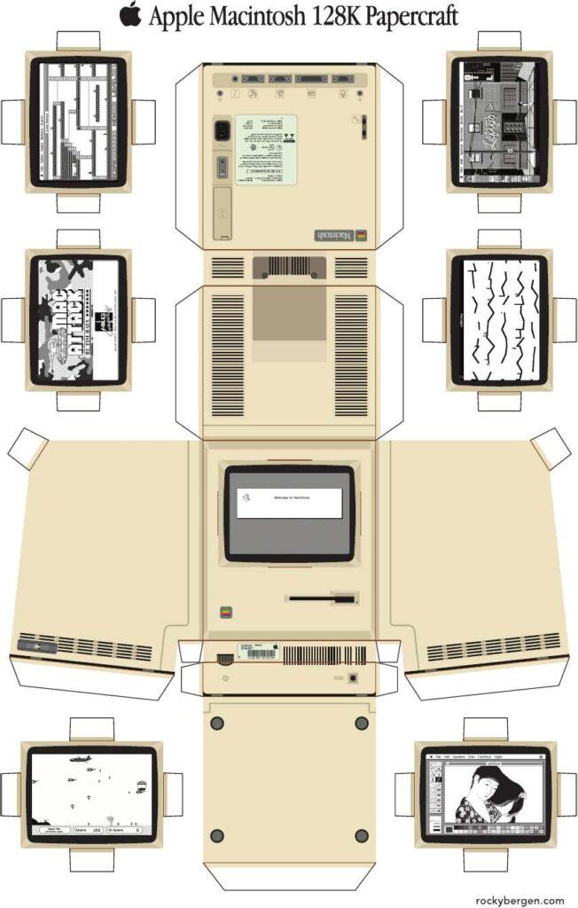 Macintosh en carton
