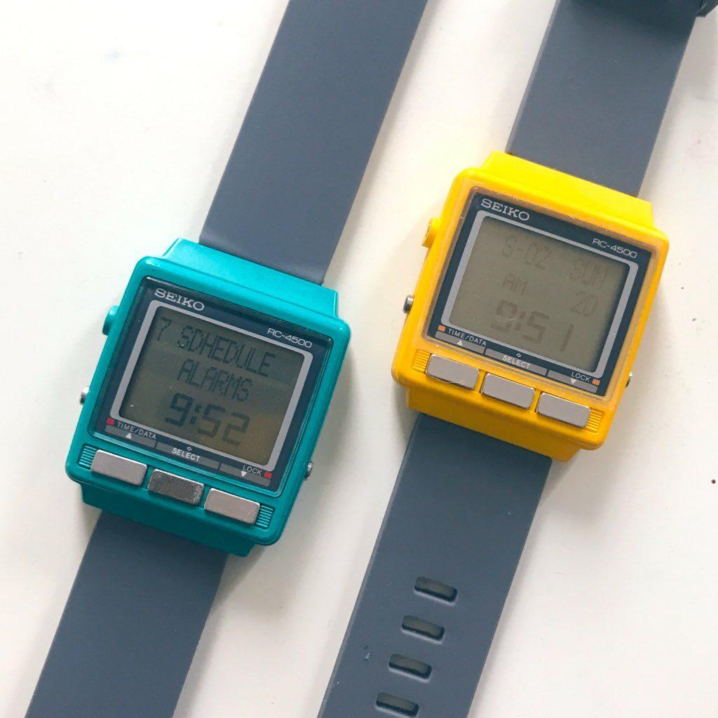 WristMac Seiko RC-4500
