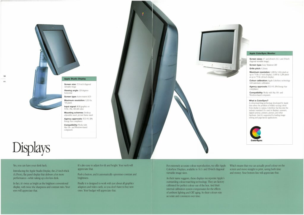 Apple Studio Display brochure