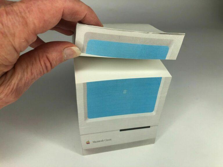 bloc-note Macintosh Classic
