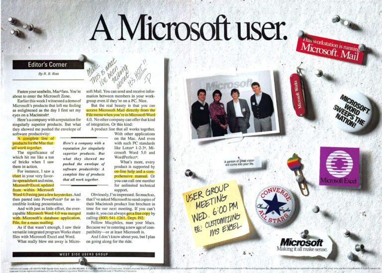 Microsoft Apple 1989 ad