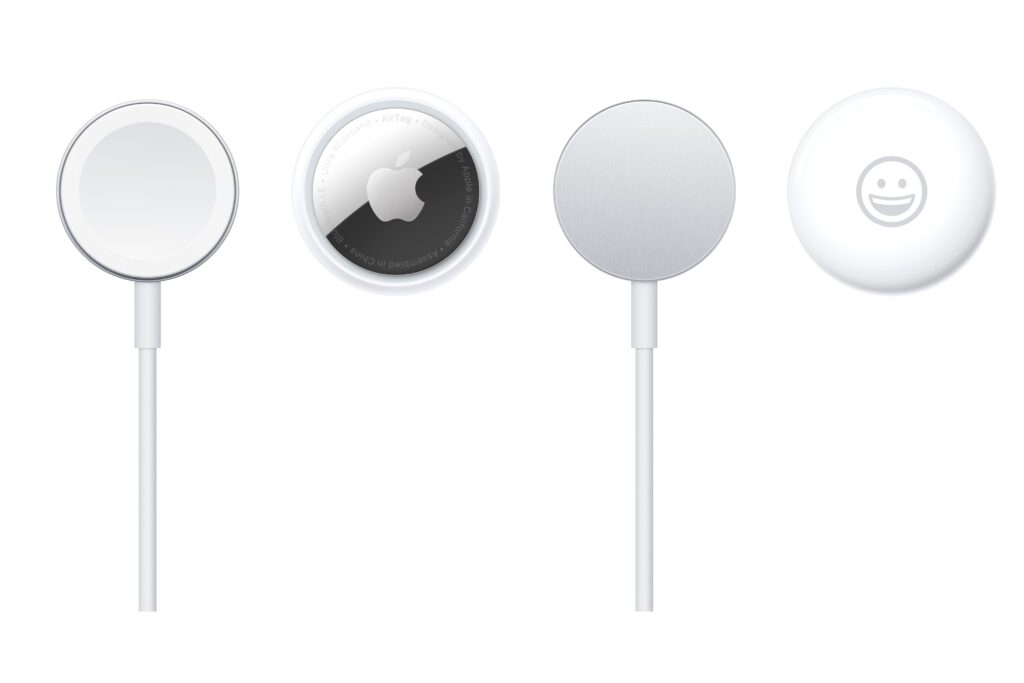 Apple watch charger et AirTag