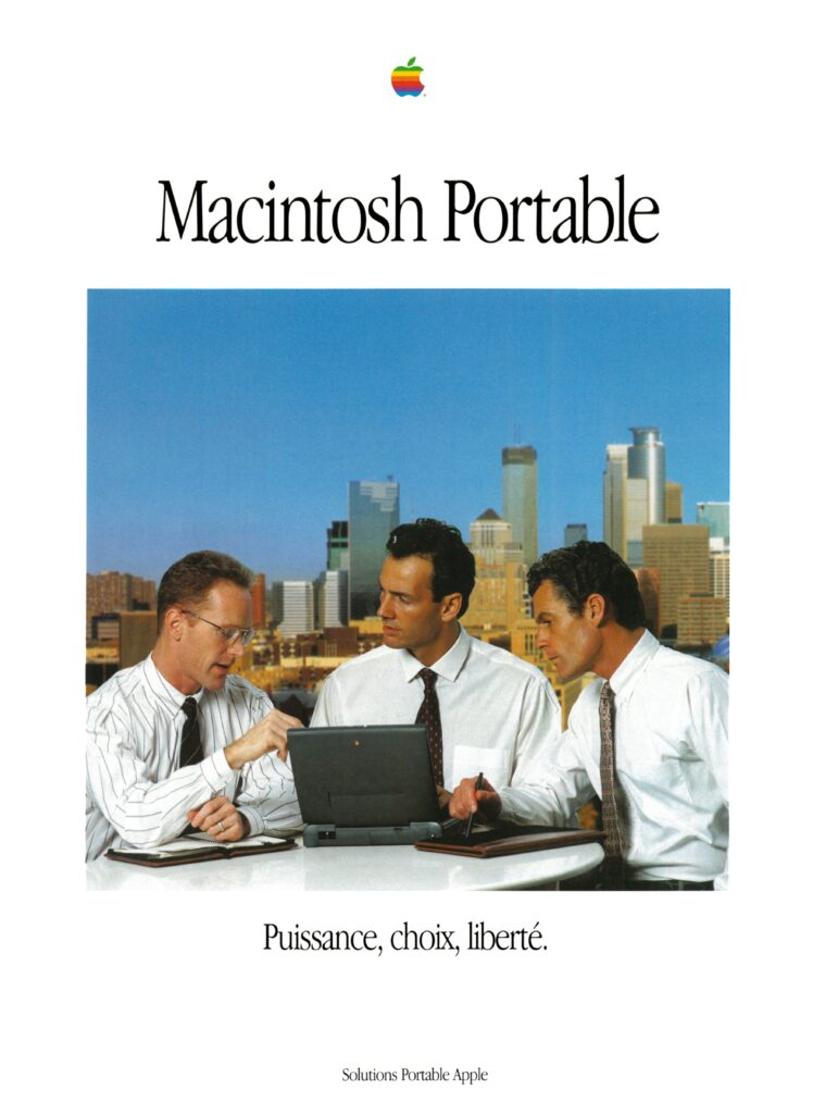 Brochure Apple France Macintosh PowerBook 1400 3400