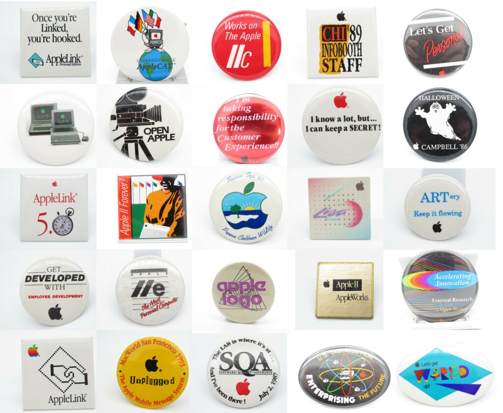 Apples badges