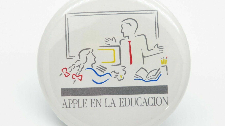 Badge Apple Macintosh en la education Picasso